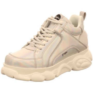 Buffalo Top Trends Sneaker silber