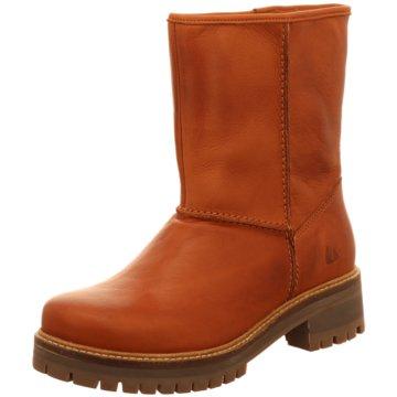 Online Shoes Plateau Stiefelette braun