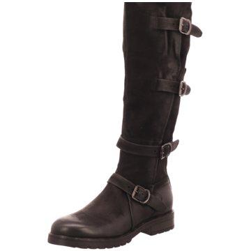 Mjus Overknee Stiefel schwarz
