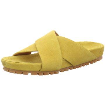 Marc O'Polo Klassische Pantolette gelb