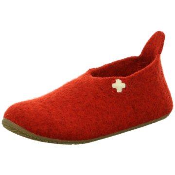 Living Kitzbühel Hausschuh rot
