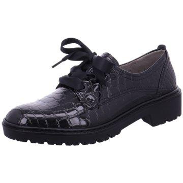 Jenny Eleganter Schnürschuh schwarz
