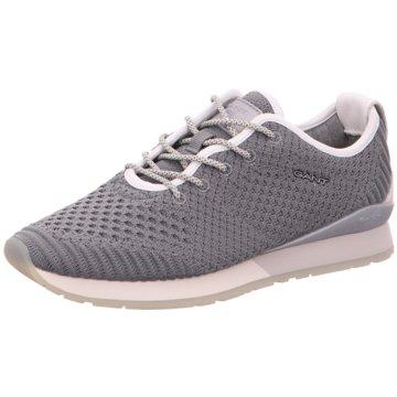 Gant Sportlicher Schnürschuh grau