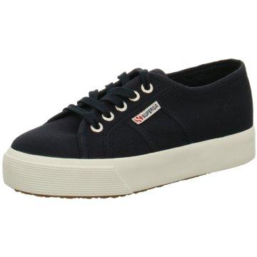 Superga Top Trends Sneaker blau