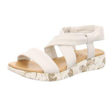 Andrea Conti Komfort Sandale weiß