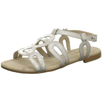 Tizian Sandale silber