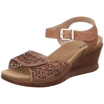 Romika Komfort Sandale braun