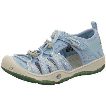 Keen TrekkingsandaleMoxie Sandal blau
