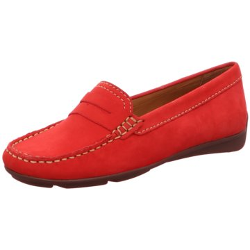 Wirth Mokassin SlipperAlbany rot