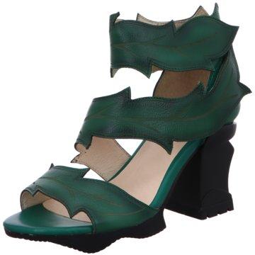 Laura Vita Komfort Sandale grün