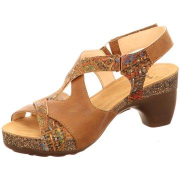 Think Komfort Sandale braun
