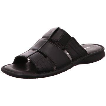 Valleverde Pantolette schwarz