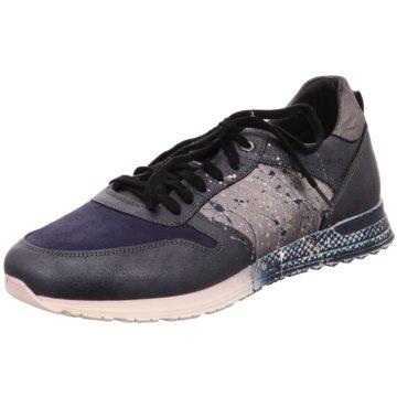 No Claim Sneaker Low blau