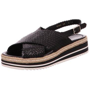 Pons Quintana Top Trends Sandaletten schwarz