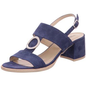Nero Giardini Sandalette blau