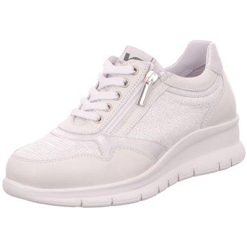 Valleverde Komfort Schnürschuh weiß