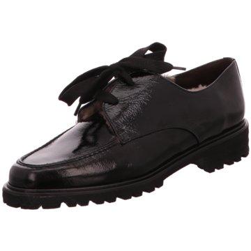 Brunate Eleganter Schnürschuh schwarz