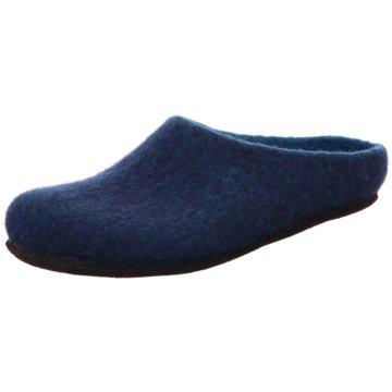 Stegmann Hausschuh blau