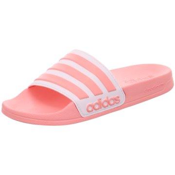 adidas Badeschuh rosa