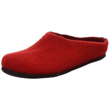 Stegmann Hausschuh rot