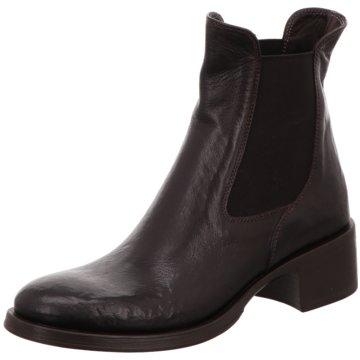 Corvari Stiefelette schwarz