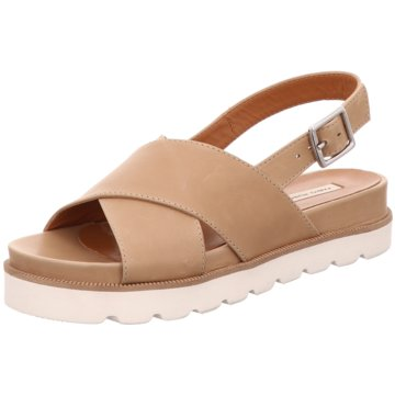 FABIO RUSCONI Sandalette braun