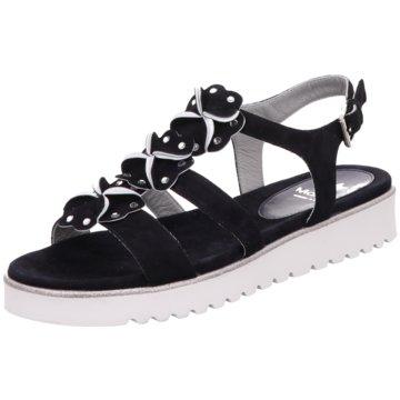 Maripé Sandale schwarz