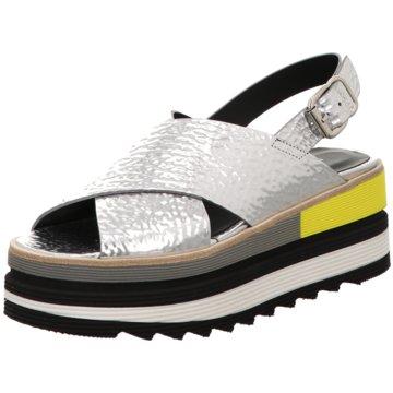 Laura Bellariva Top Trends Sandaletten silber