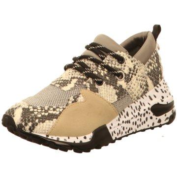 Steve Madden Sneaker Wedges beige