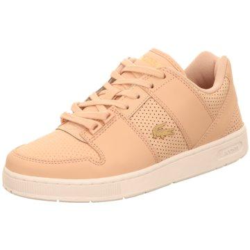 Lacoste Sneaker Low lachs