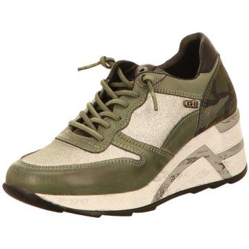 Cetti Sneaker Wedges grün