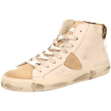 Philippe Model Sneaker High weiß