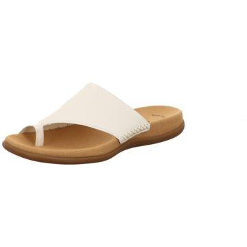 Gabor Komfort Pantolette./. weiß