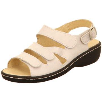 Belvida Komfort Sandale weiß