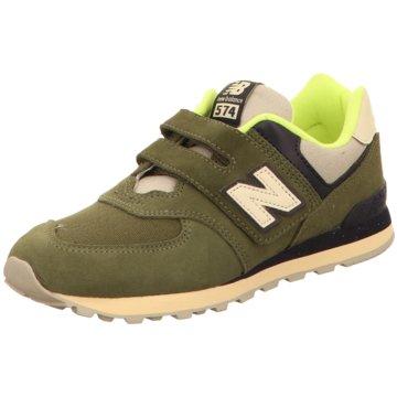 New Balance Klettschuh grün