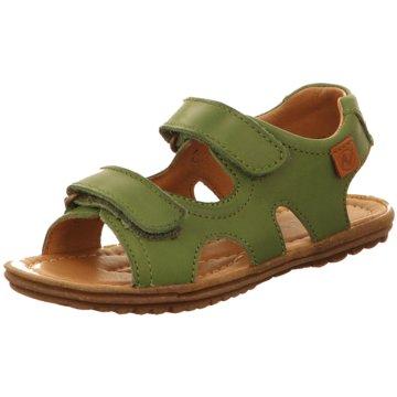 Naturino Offene Schuhe grün