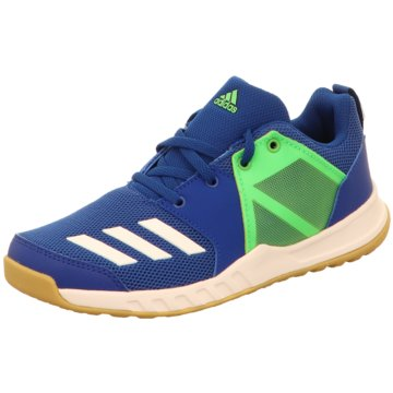 adidas Trainings- und HallenschuhFortaGym Schuh - D97828 blau