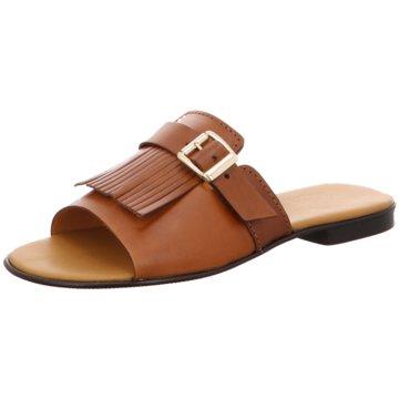 DE.VI.L. Shoes Summer Feelings braun