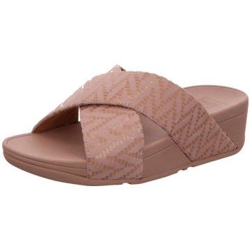 FitFlop Plateau Pantolette rosa