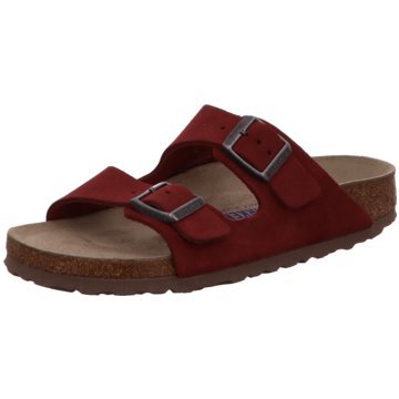 Birkenstock Klassische Pantolette rot