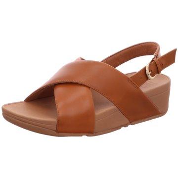 FitFlop Sandale braun