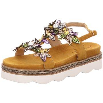 Alma en Pena Sandalette gelb