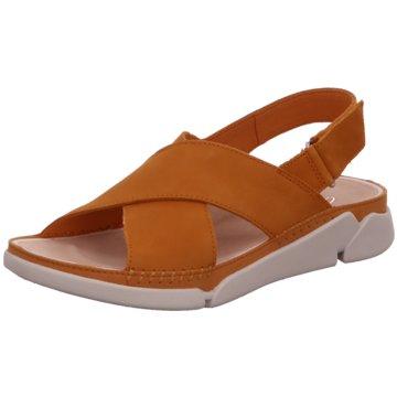 Clarks Sandale gelb