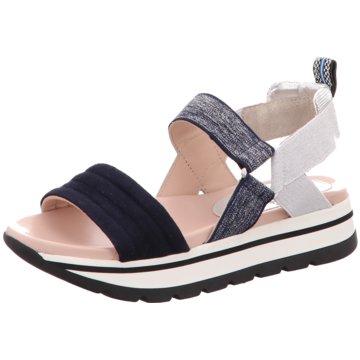 Maripé Sandalette blau