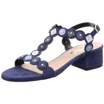 Maya Riemchensandalette blau