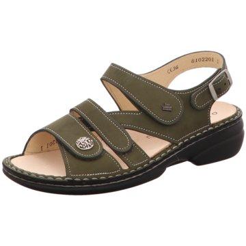 FinnComfort Komfort Sandale grün