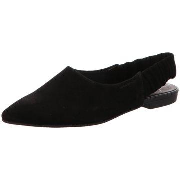 Vagabond Top Trends Ballerinas schwarz