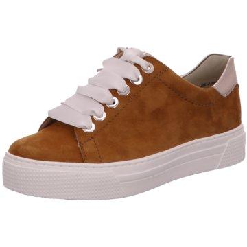 Semler Plateau Sneaker braun