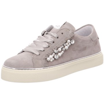 Alpe Woman Shoes Plateau Sneaker grau