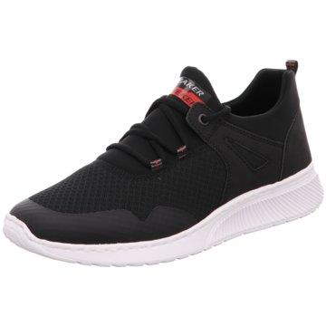 Rieker Sneaker Low schwarz